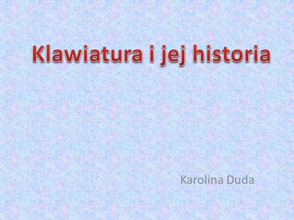 Klawiatura i jej historia