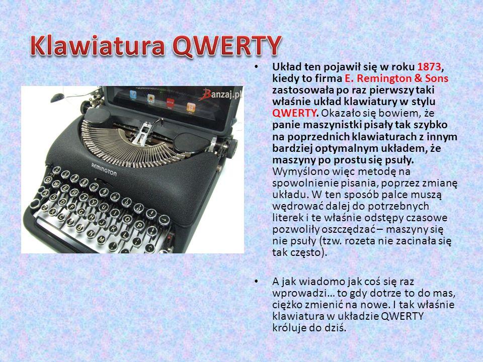 Klawiatura QWERTY