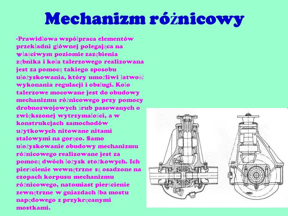 Mechanizm różnicowy