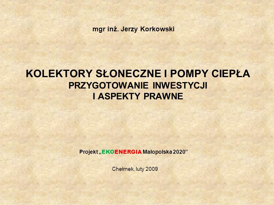 mgr inż. Jerzy Korkowski