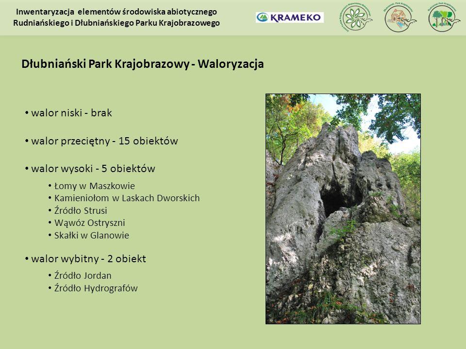 Dłubniański Park Krajobrazowy - Waloryzacja
