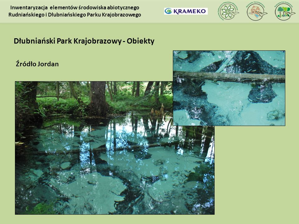 Dłubniański Park Krajobrazowy - Obiekty