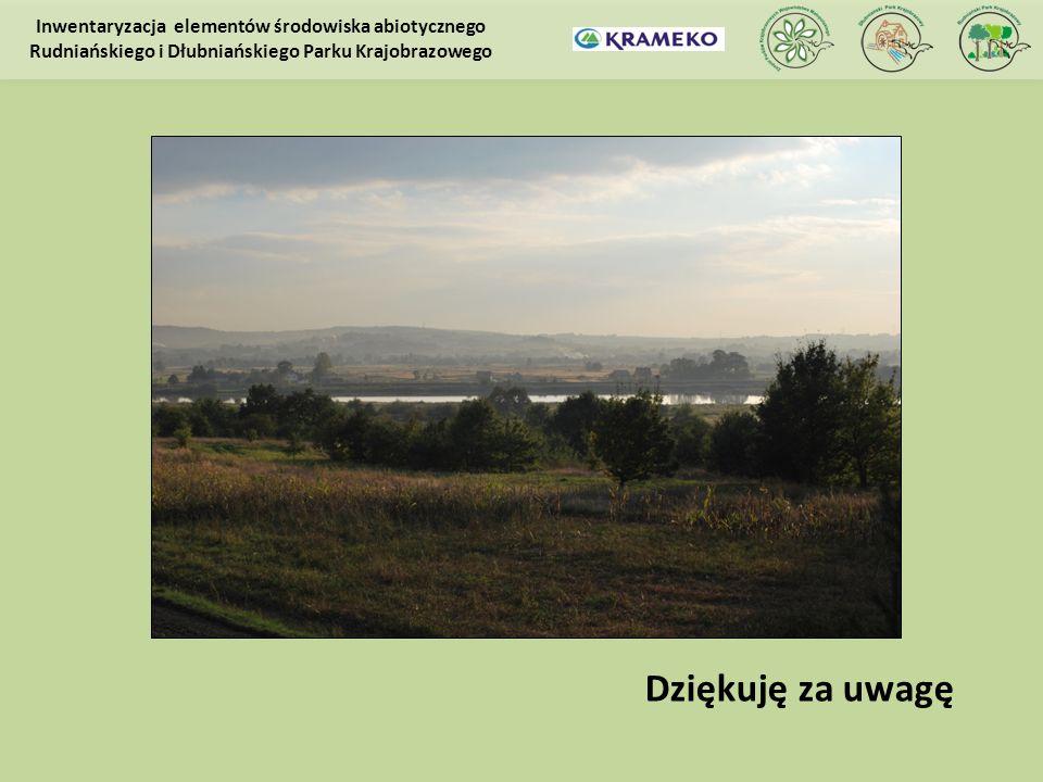 Inwentaryzacja elementów środowiska abiotycznego Rudniańskiego i Dłubniańskiego Parku Krajobrazowego