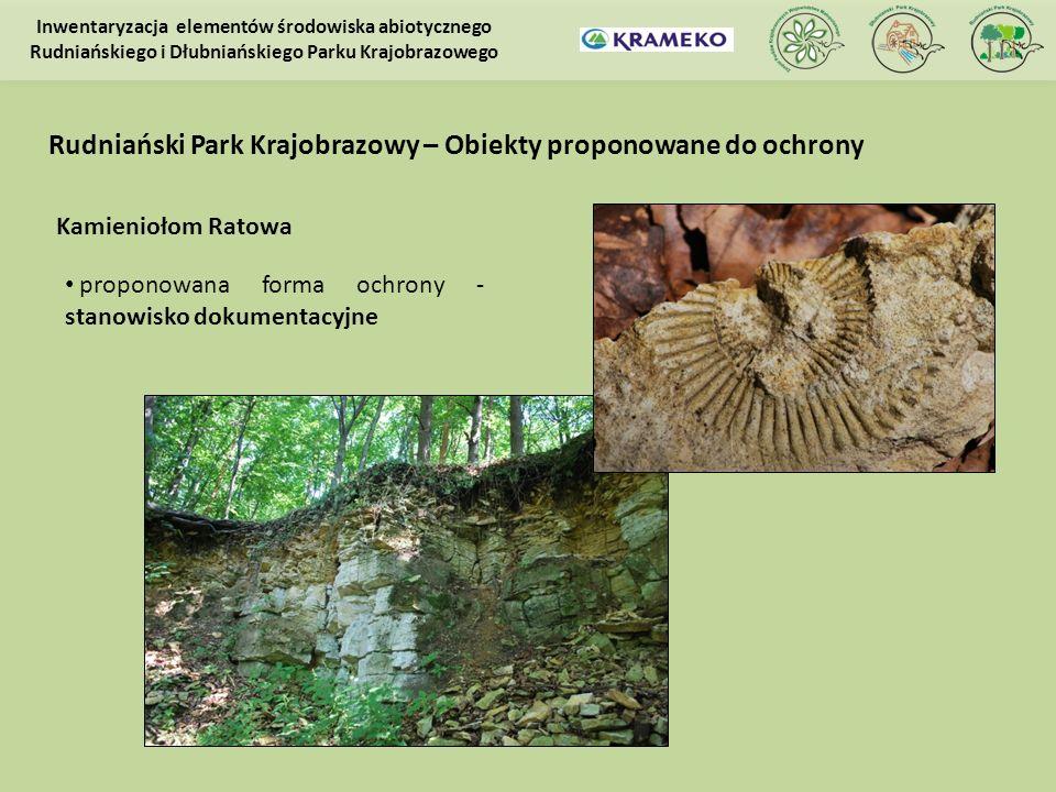 Rudniański Park Krajobrazowy – Obiekty proponowane do ochrony