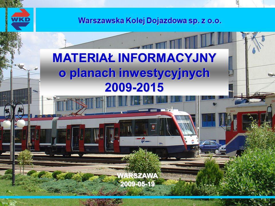 MATERIAŁ INFORMACYJNY o planach inwestycyjnych 2009-2015