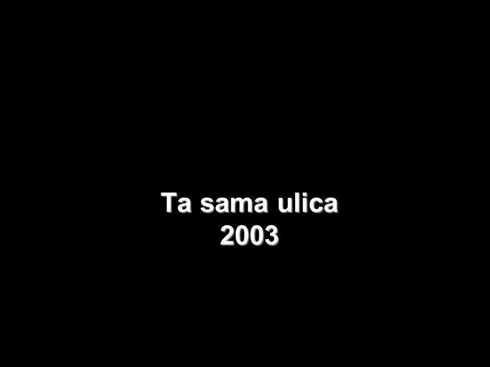 Ta sama ulica 2003