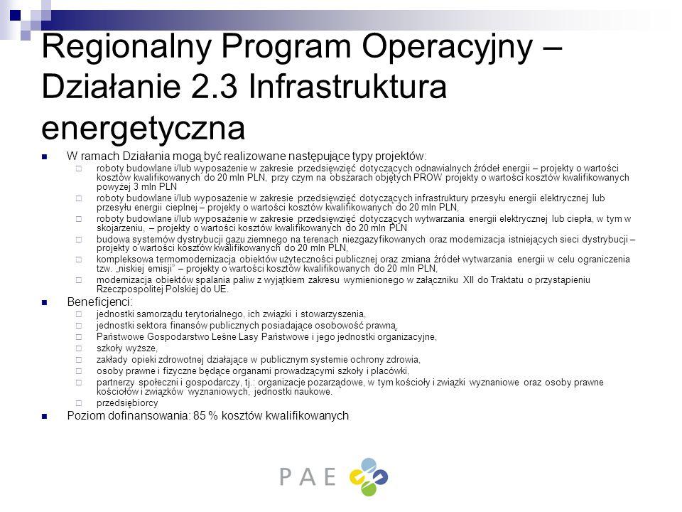 Regionalny Program Operacyjny – Działanie 2