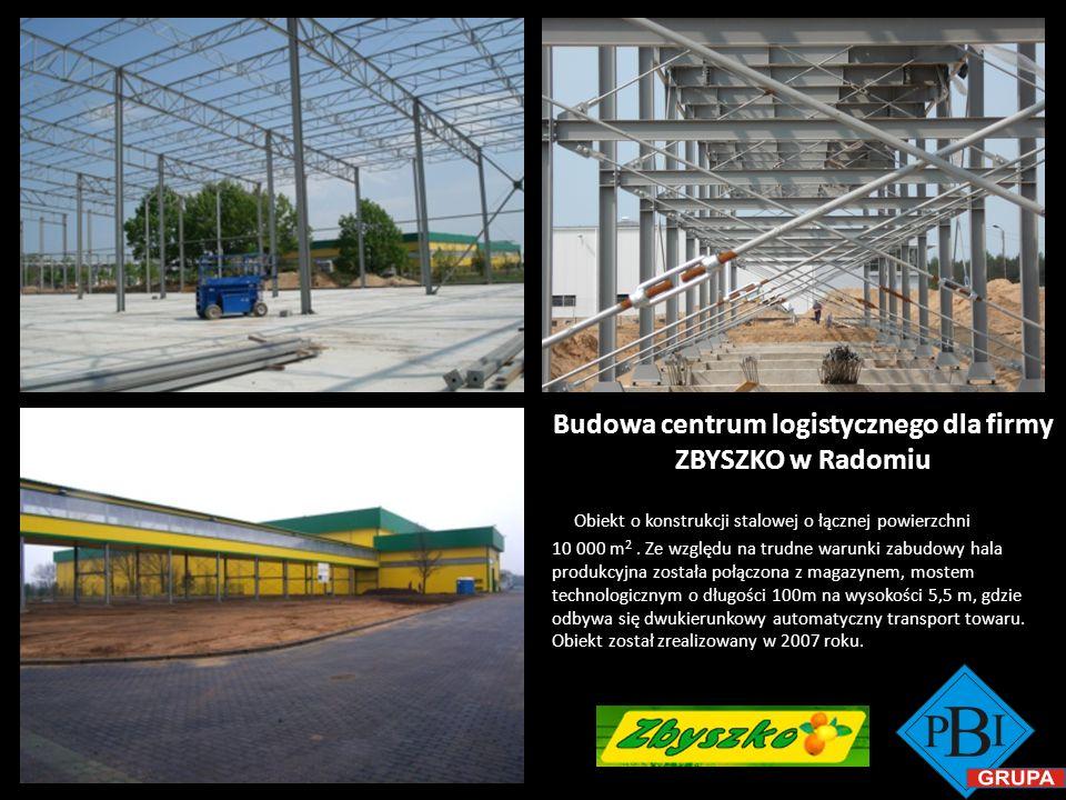 Budowa centrum logistycznego dla firmy ZBYSZKO w Radomiu