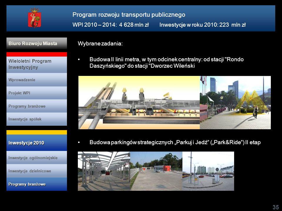 Program rozwoju transportu publicznego