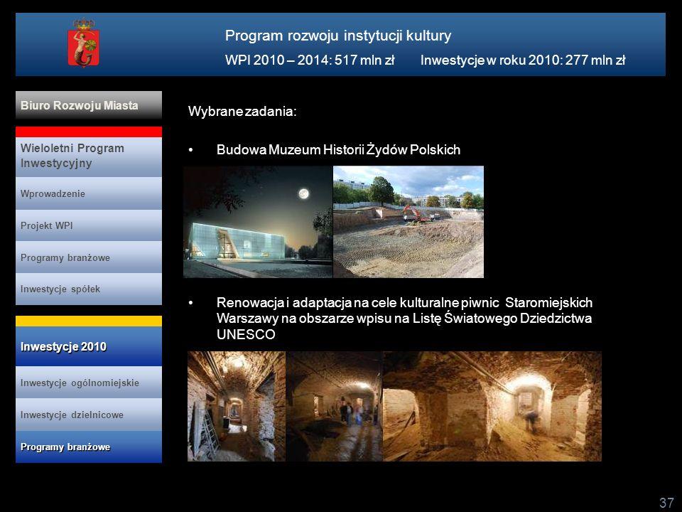 Program rozwoju instytucji kultury