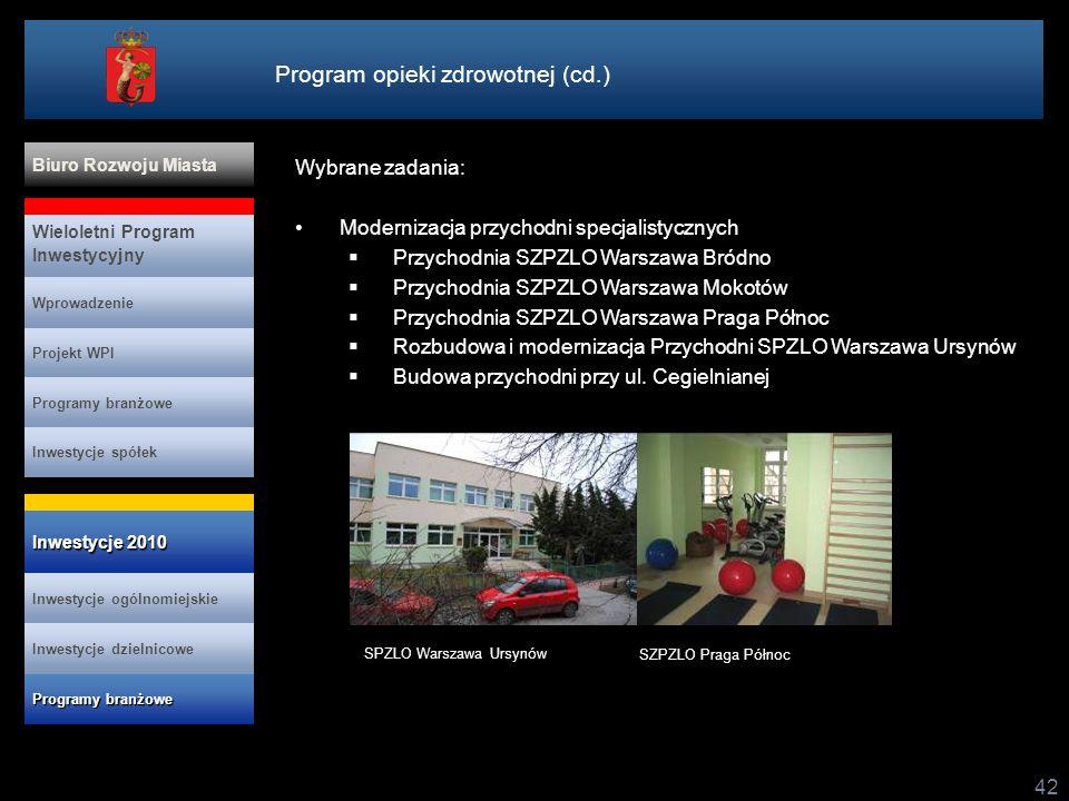 Program opieki zdrowotnej (cd.)