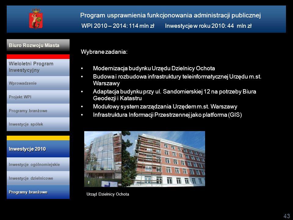 Program usprawnienia funkcjonowania administracji publicznej
