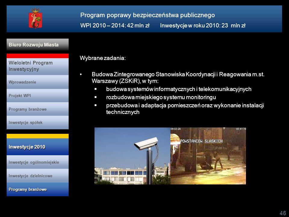 Program poprawy bezpieczeństwa publicznego