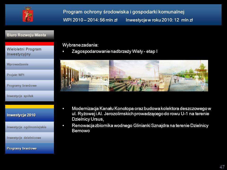Program ochrony środowiska i gospodarki komunalnej