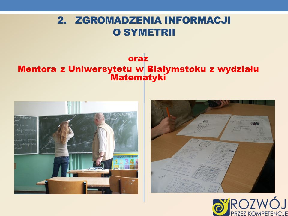 2. Zgromadzenia informacji o SYMETRII