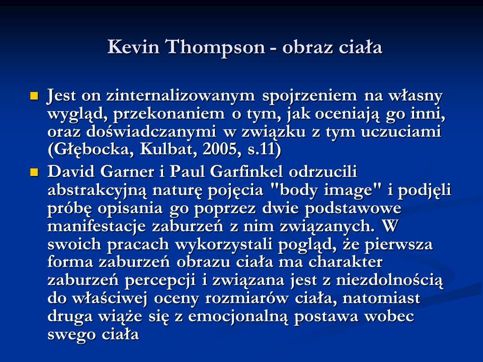 Kevin Thompson - obraz ciała