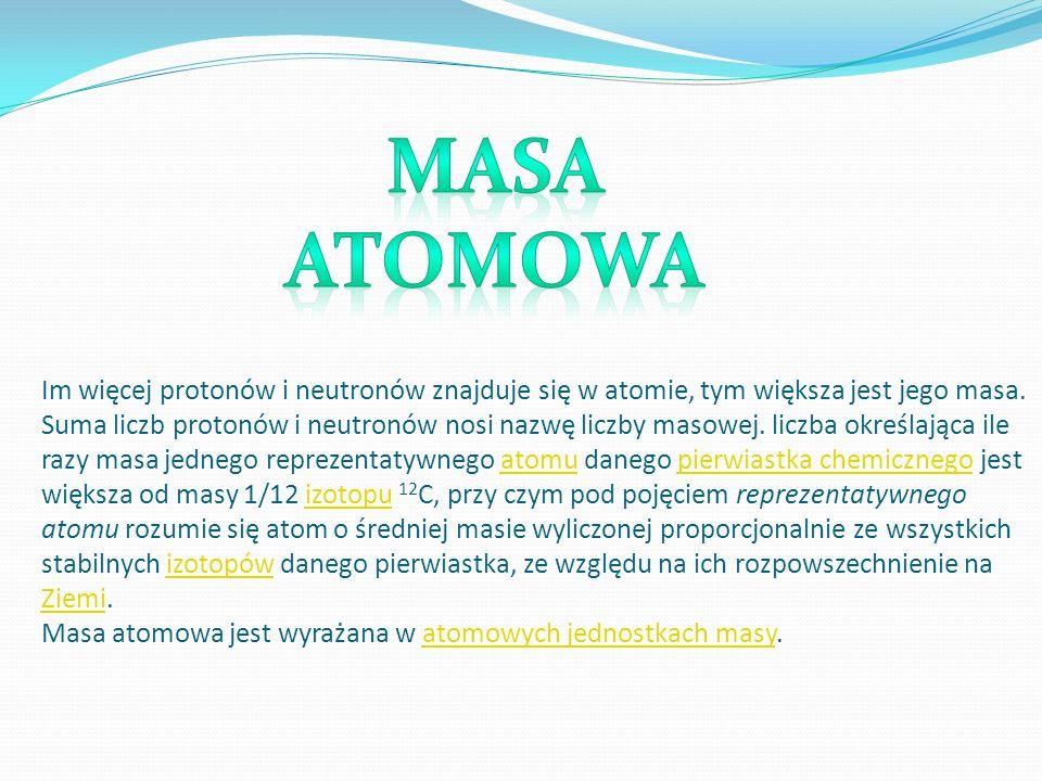 Masa atomowa