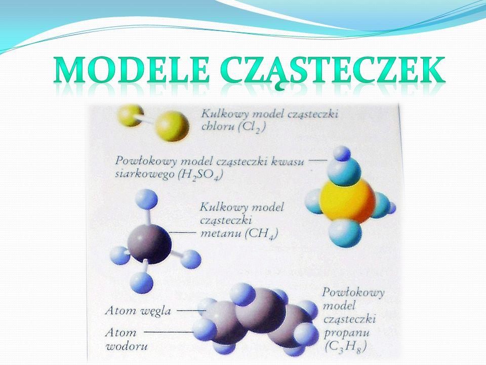 Modele cząsteczek