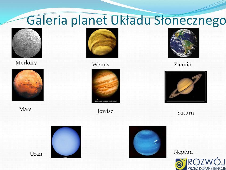 Galeria planet Układu Słonecznego