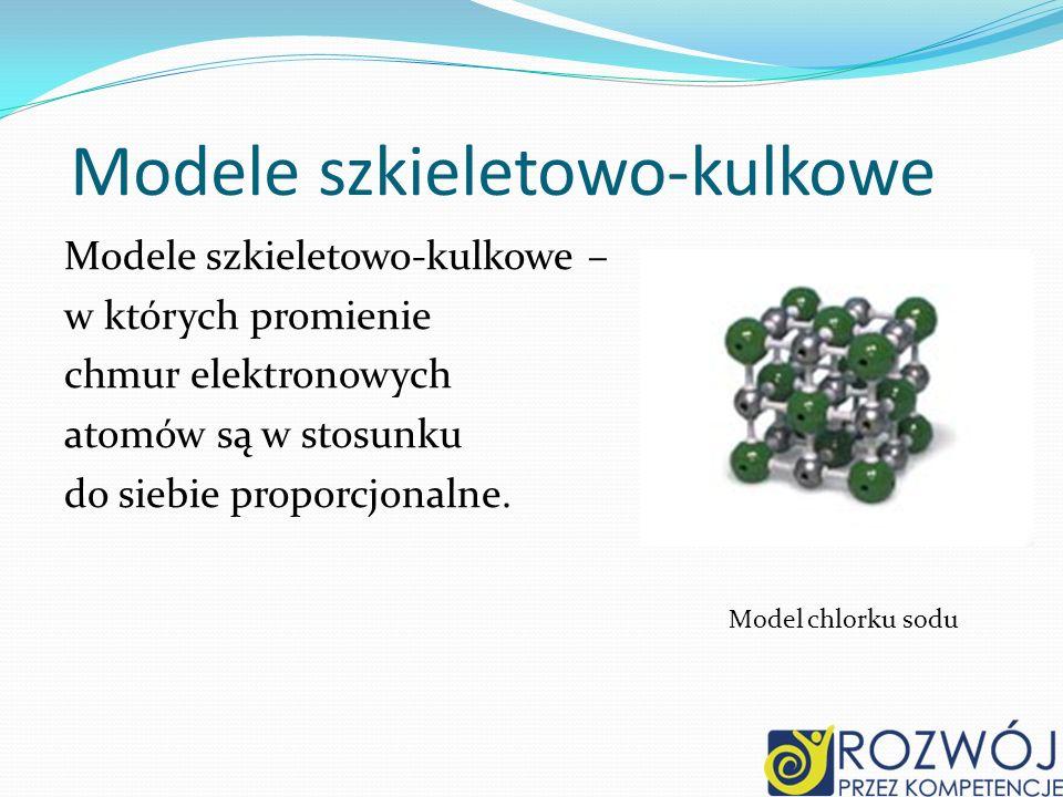 Modele szkieletowo-kulkowe