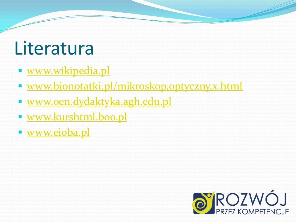 Literatura www.wikipedia.pl