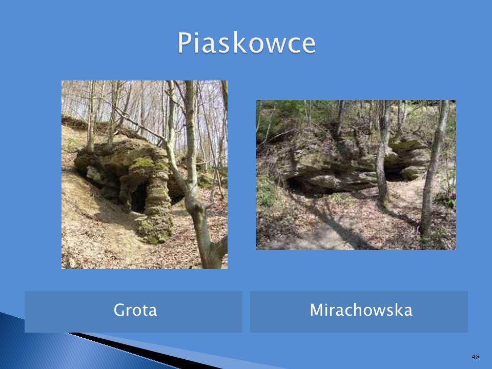 Piaskowce Grota Mirachowska