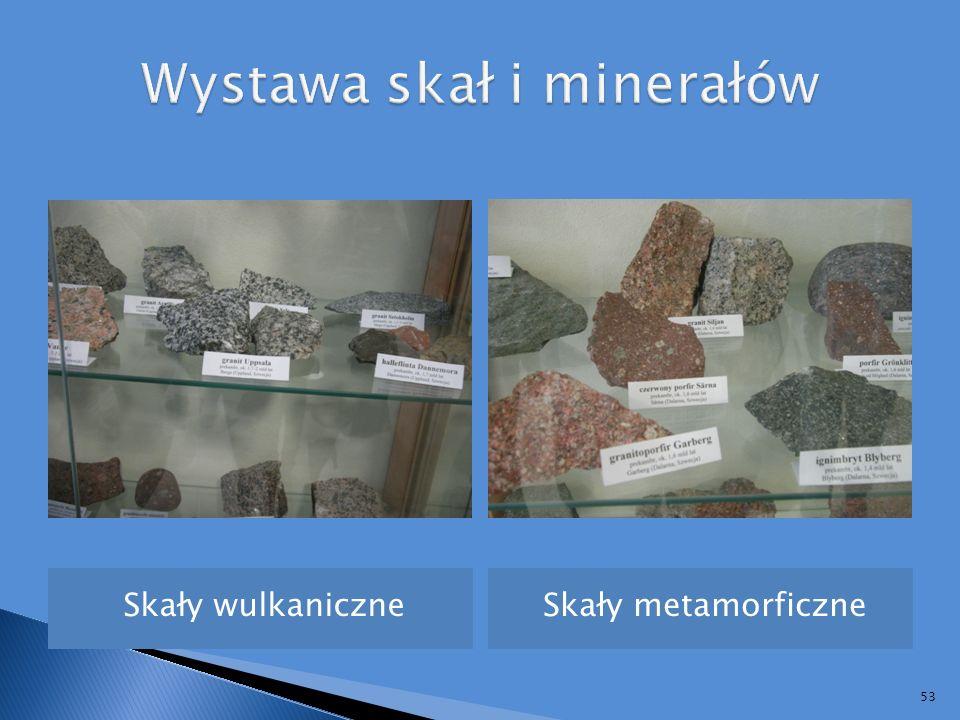 Wystawa skał i minerałów