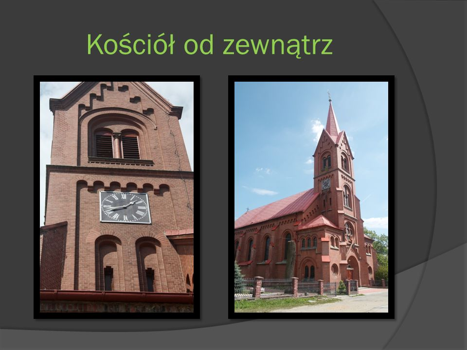 Kościół od zewnątrz