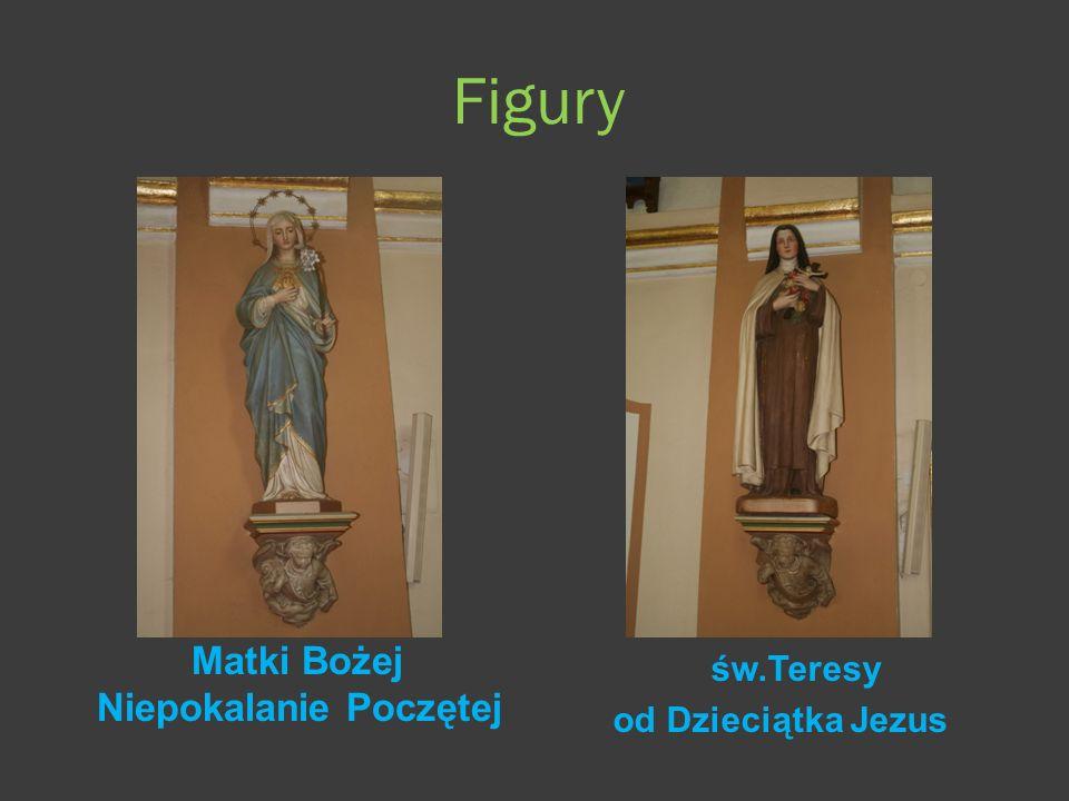 Figury Matki Bożej Niepokalanie Poczętej św.Teresy od Dzieciątka Jezus