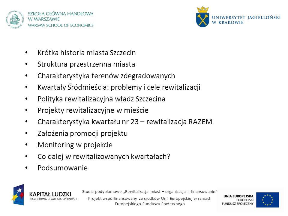Krótka historia miasta Szczecin