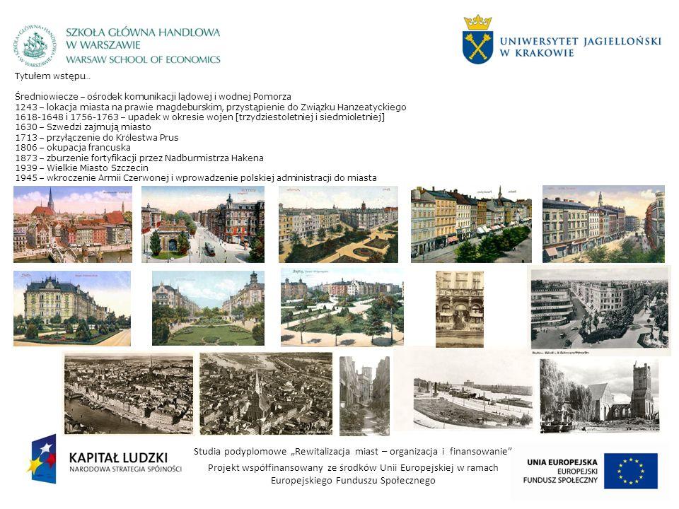 Tytułem wstępu…Średniowiecze – ośrodek komunikacji lądowej i wodnej Pomorza.