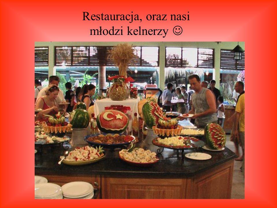 Restauracja, oraz nasi młodzi kelnerzy 