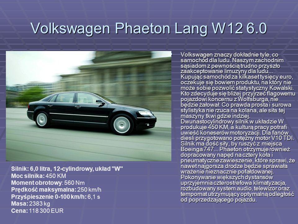 Volkswagen Phaeton Lang W12 6.0