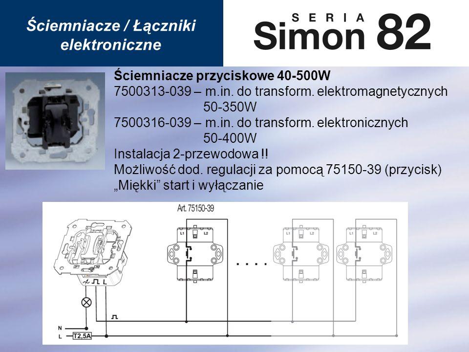 Ściemniacze / Łączniki elektroniczne