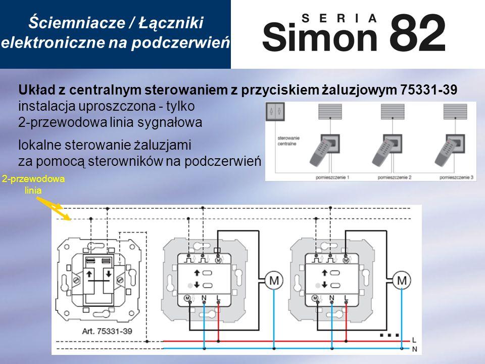 Ściemniacze / Łączniki elektroniczne na podczerwień