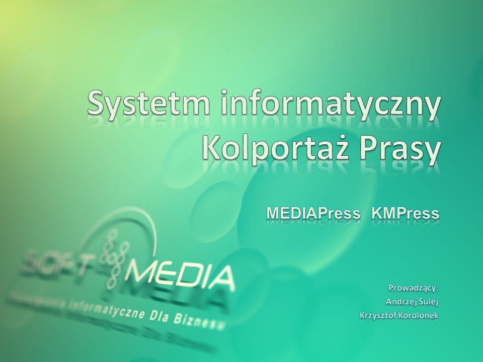 Systetm informatyczny Kolportaż Prasy