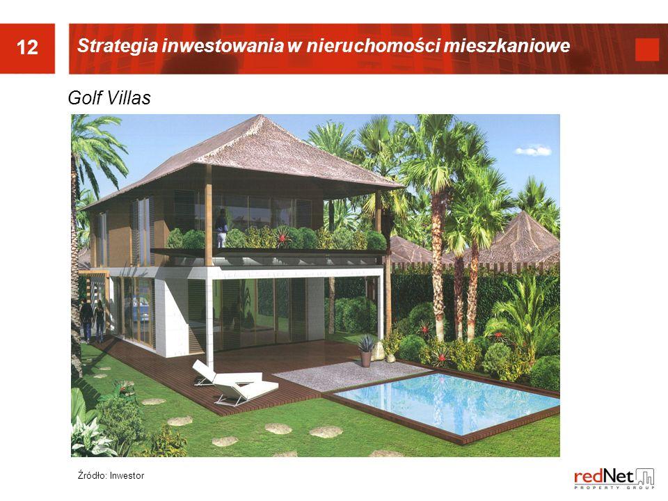 12 Strategia inwestowania w nieruchomości mieszkaniowe Golf Villas