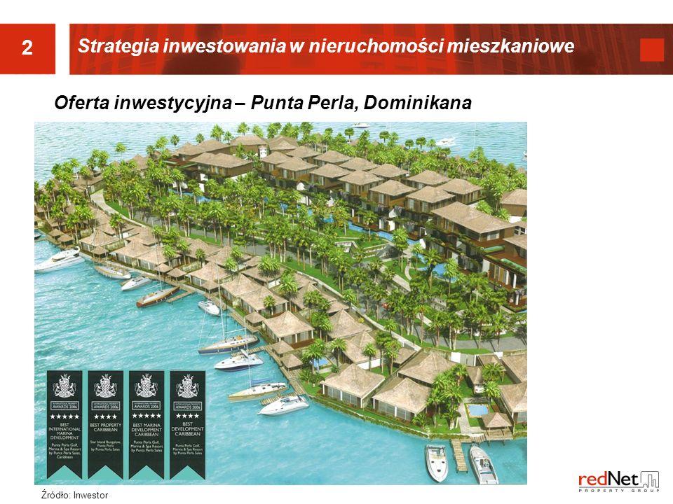 Oferta inwestycyjna – Punta Perla, Dominikana