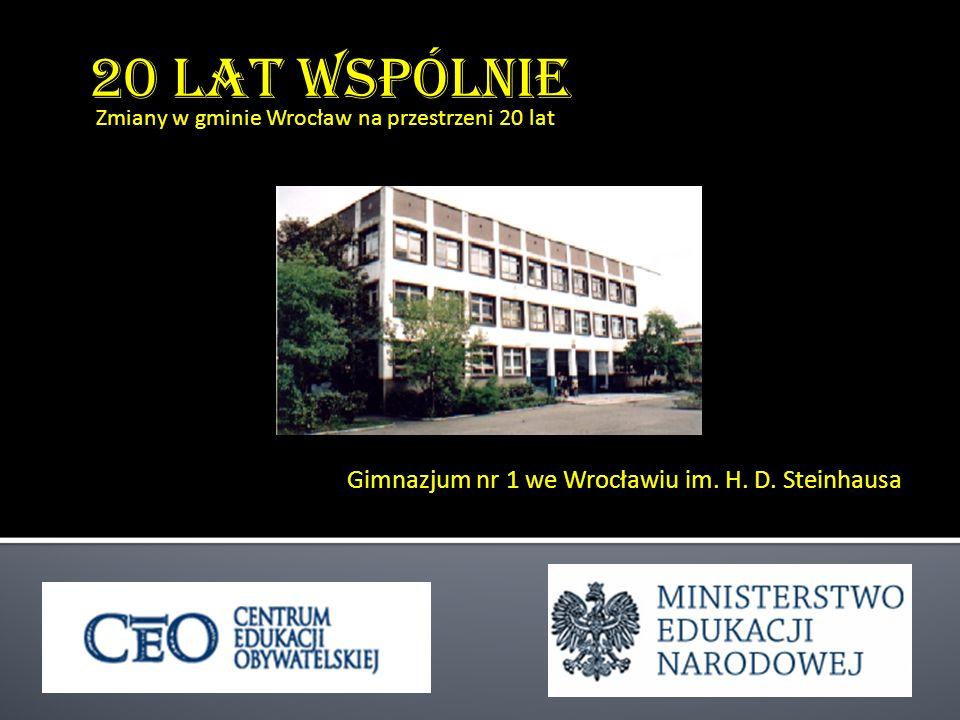 Gimnazjum nr 1 we Wrocławiu im. H. D. Steinhausa