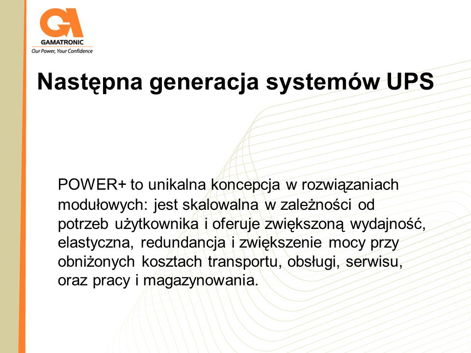 Następna generacja systemów UPS
