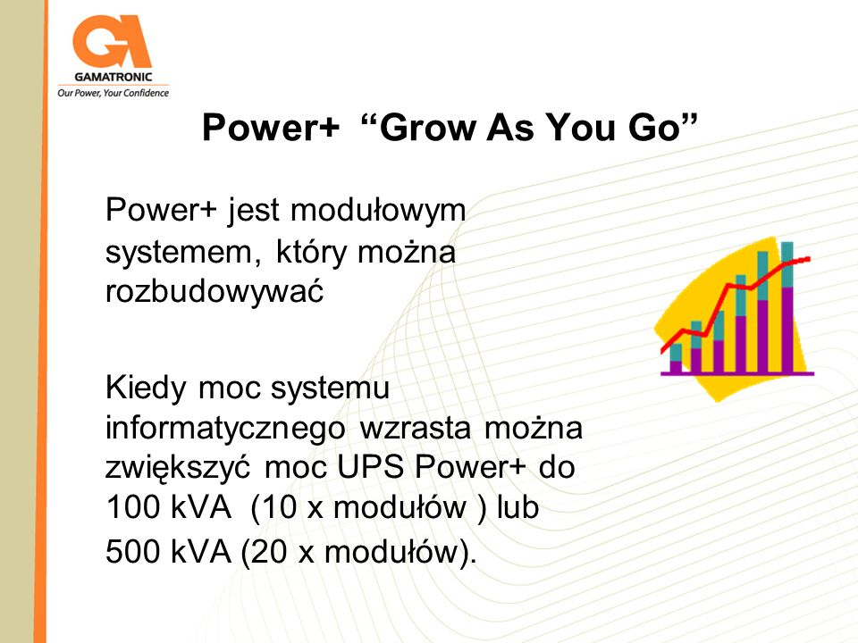 Power+ jest modułowym systemem, który można rozbudowywać