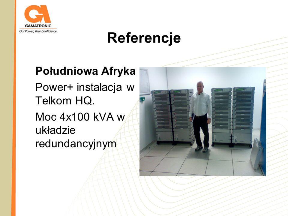 Referencje Południowa Afryka Power+ instalacja w Telkom HQ.