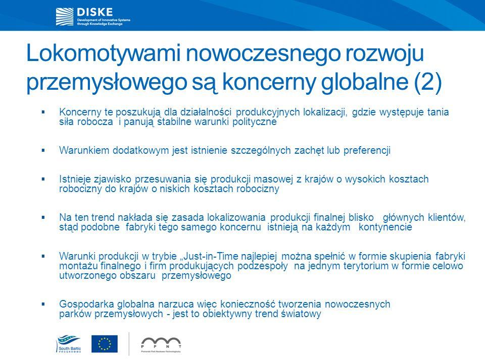 Lokomotywami nowoczesnego rozwoju przemysłowego są koncerny globalne (2)
