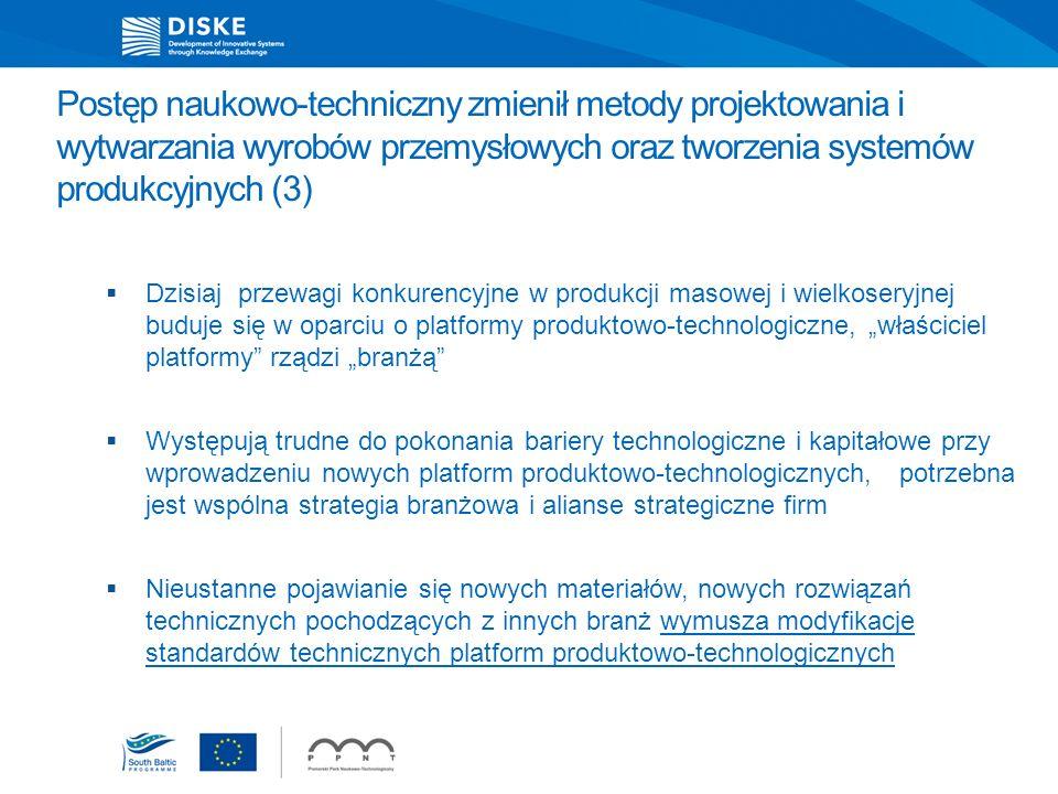 Postęp naukowo-techniczny zmienił metody projektowania i wytwarzania wyrobów przemysłowych oraz tworzenia systemów produkcyjnych (3)