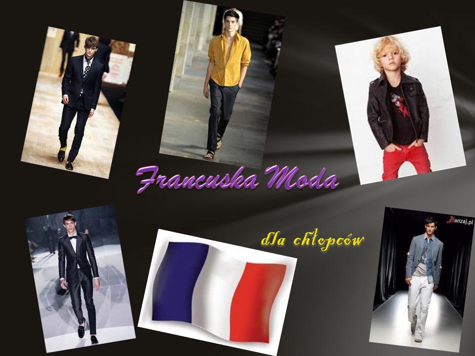 Francuska Moda dla chłopców