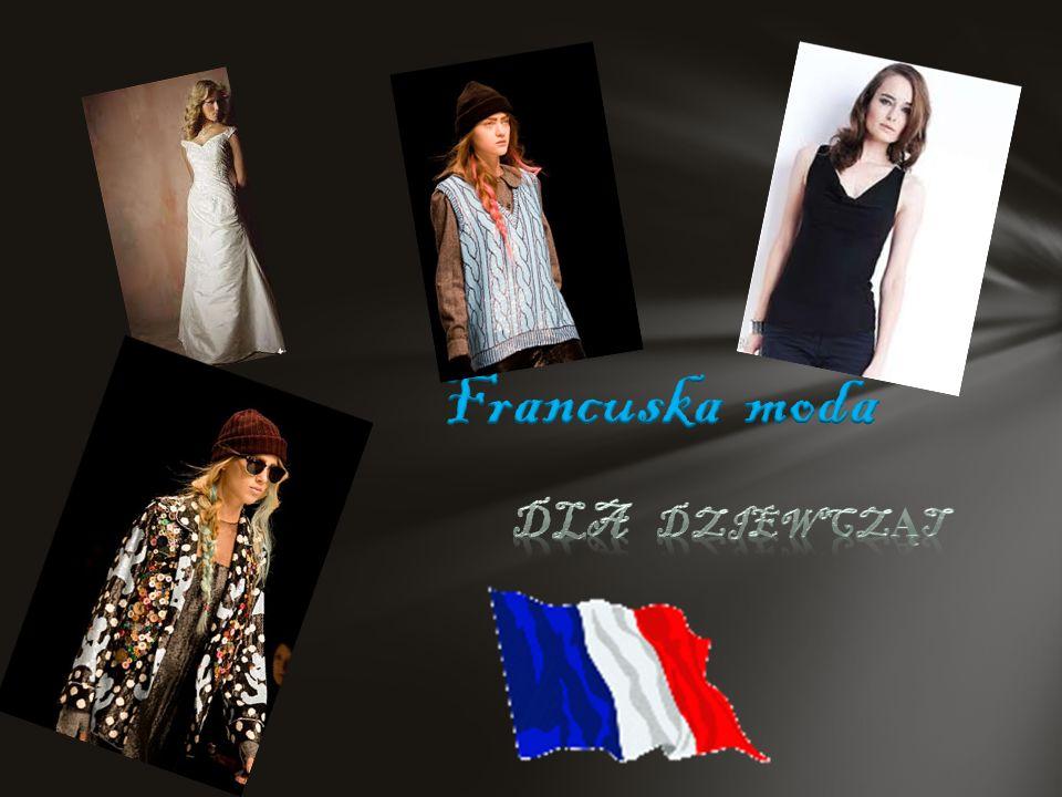 Francuska moda Dla dziewcząt