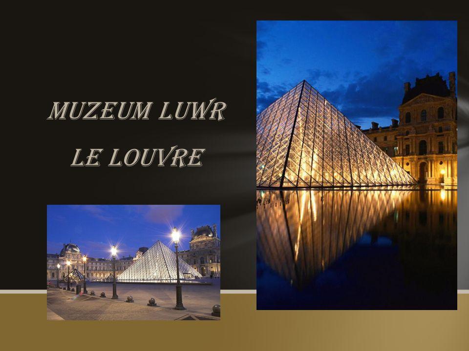 Muzeum luwr Le louvre