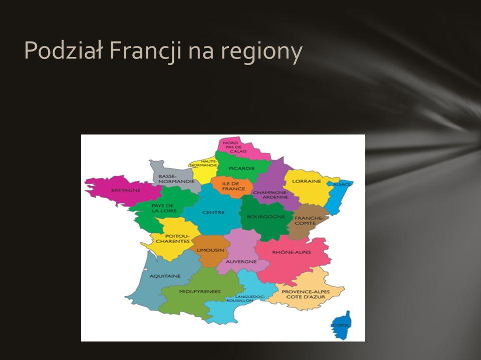 Podział Francji na regiony