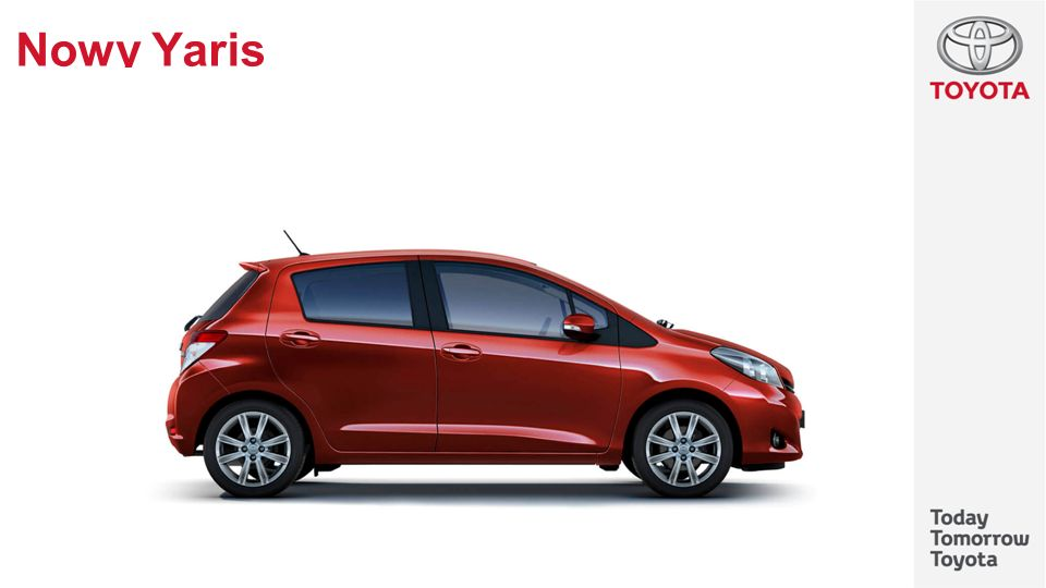 Nowy Yaris As you can see, the new generation Yaris has dynamic lines matching the standards of the segment.