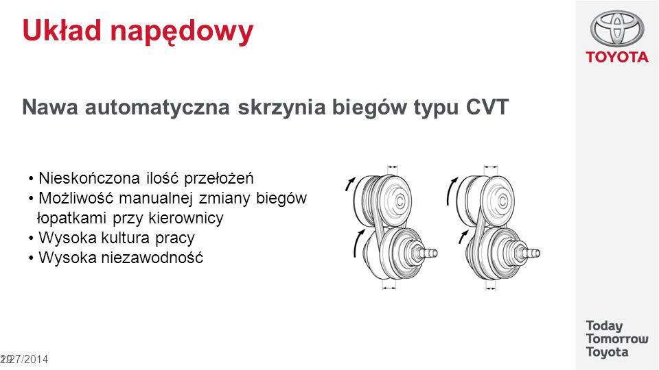 Układ napędowy Nawa automatyczna skrzynia biegów typu CVT